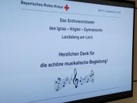 Orchester und Bigband beim BRK Landsberg